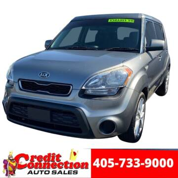 2013 Kia Soul for sale at Credit Connection Auto Sales in Midwest City OK