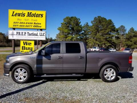 2007 Ford F-150 for sale at Lewis Motors LLC in Deridder LA