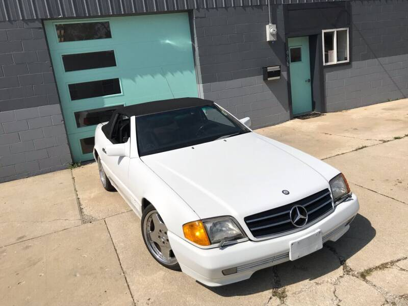 1990 Mercedes-Benz 500-Class for sale at Enthusiast Autohaus in Sheridan IN
