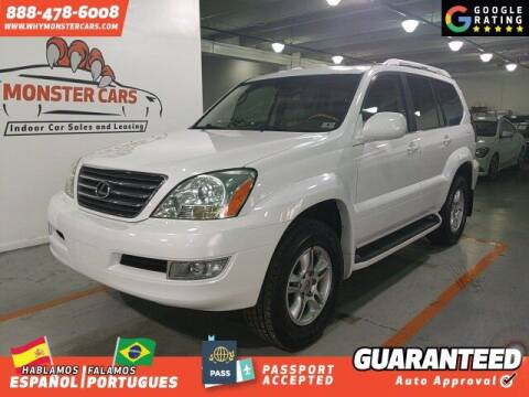 2004 Lexus GX 470 for sale at Monster Cars in Pompano Beach FL