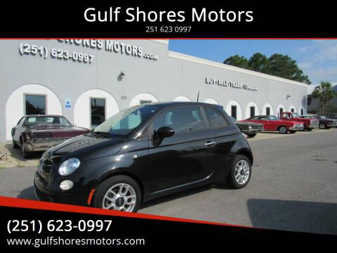 2013 FIAT 500 for sale at Gulf Shores Motors in Gulf Shores AL