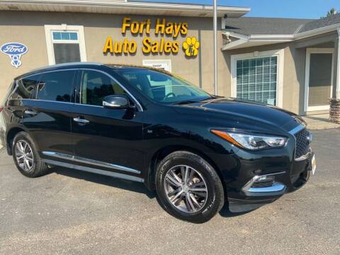 2017 Infiniti QX60 for sale at Fort Hays Auto Sales in Hays KS