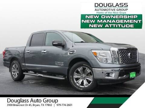 2017 Nissan Titan for sale at Douglass Automotive Group in Central Texas TX