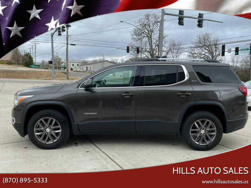 2019 GMC Acadia for sale at Hills Auto Sales in Salem AR