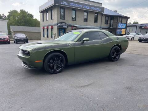 2018 Dodge Challenger for sale at Sisson Pre-Owned in Uniontown PA