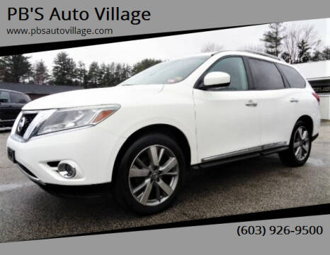 2014 Nissan Pathfinder for sale at PB'S Auto Village in Hampton Falls NH