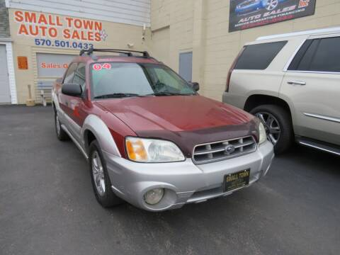 2004 Subaru Baja for sale at Small Town Auto Sales in Hazleton PA