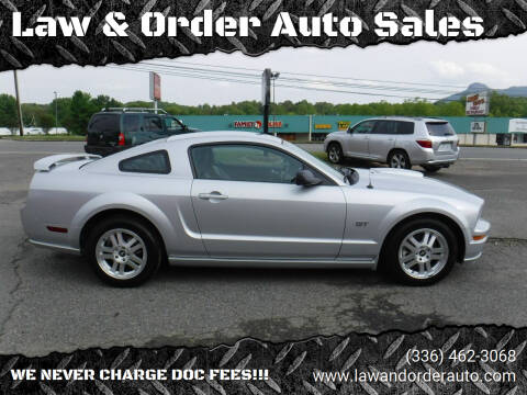2007 Ford Mustang for sale at Law & Order Auto Sales in Pilot Mountain NC