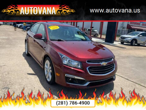2016 Chevrolet Cruze Limited for sale at AutoVana in Humble TX