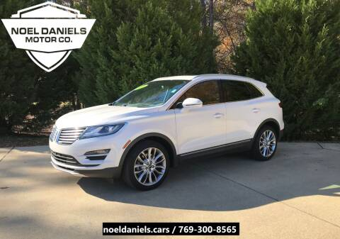 2016 Lincoln MKC for sale at Noel Daniels Motor Company in Brandon MS