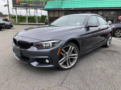 2018 BMW 4 Series for sale at EUROPEAN AUTO EXPO in Lodi NJ