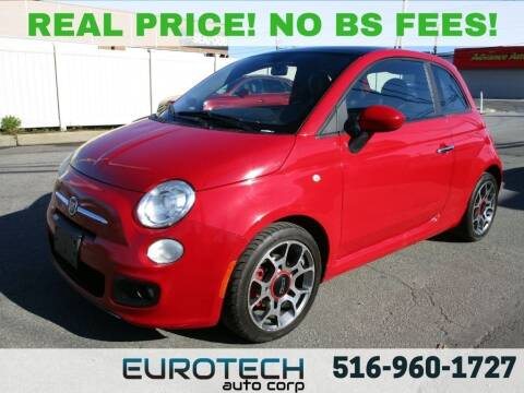2012 FIAT 500 for sale at EUROTECH AUTO CORP in Island Park NY