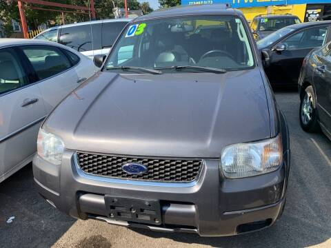 2003 Ford Escape for sale at HW Used Car Sales LTD in Chicago IL