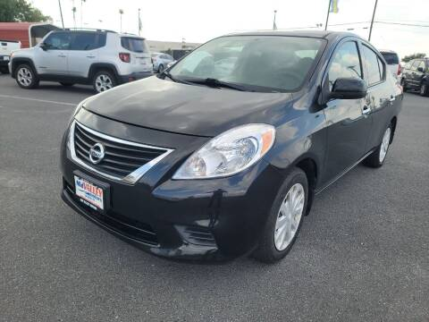 2014 Nissan Versa for sale at Mid Valley Motors in La Feria TX