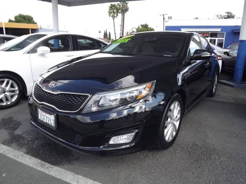 2015 Kia Optima for sale at PACIFICO AUTO SALES in Santa Ana CA