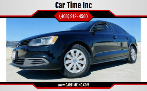 2013 Volkswagen Jetta for sale at Car Time Inc in San Jose CA
