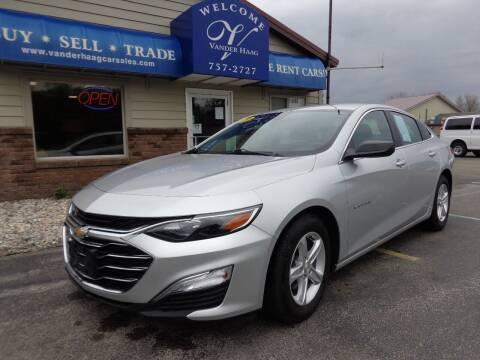 2019 Chevrolet Malibu for sale at VanderHaag Car Sales LLC in Scottville MI