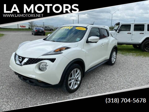2015 Nissan JUKE for sale at LA MOTORS in Alexandria LA