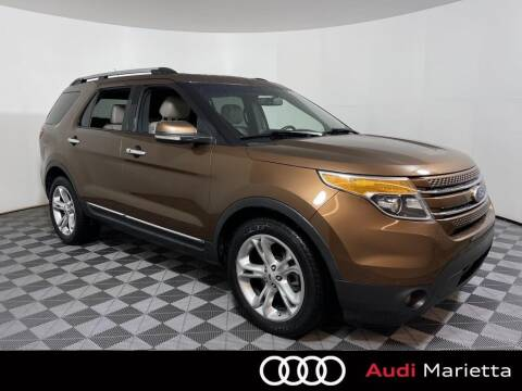 2012 Ford Explorer for sale at CU Carfinders in Norcross GA