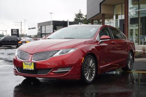2013 Lincoln MKZ for sale at Jeremy Sells Hyundai in Edmunds WA