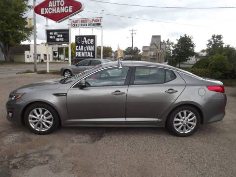 2014 Kia Optima for sale at The Auto Exchange in Stevens Point WI
