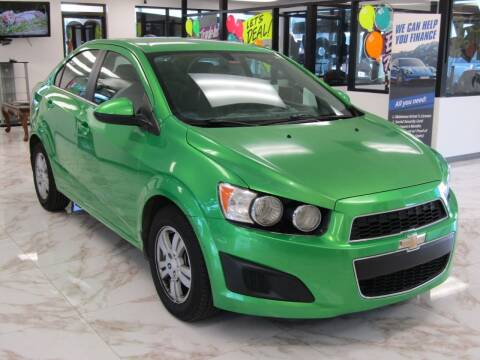 2015 Chevrolet Sonic for sale at Dealer One Auto Credit in Oklahoma City OK