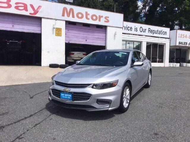 2018 Chevrolet Malibu for sale at Bay Motors Inc in Baltimore MD
