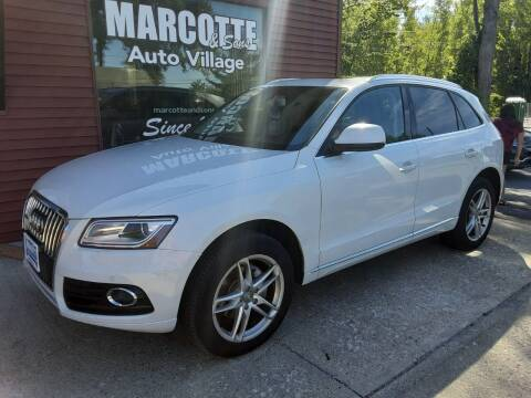2014 Audi Q5 for sale at Marcotte & Sons Auto Village in North Ferrisburgh VT