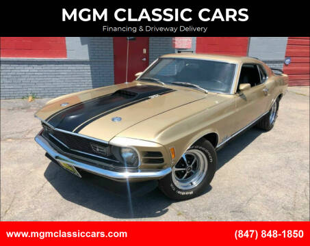 1970 Ford Mustang for sale at MGM CLASSIC CARS-New Arrivals in Addison IL