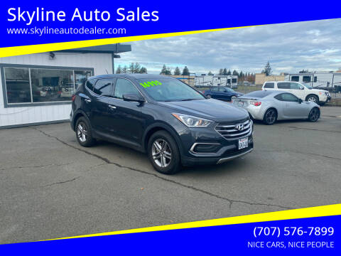 2018 Hyundai Santa Fe Sport for sale at Skyline Auto Sales in Santa Rosa CA