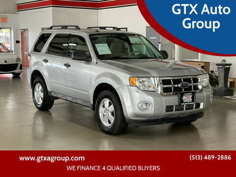 2009 Ford Escape for sale at GTX Auto Group in West Chester OH