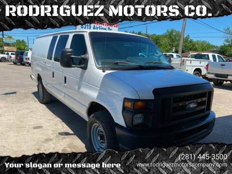 2011 Ford E-Series Cargo for sale at RODRIGUEZ MOTORS CO. in Houston TX
