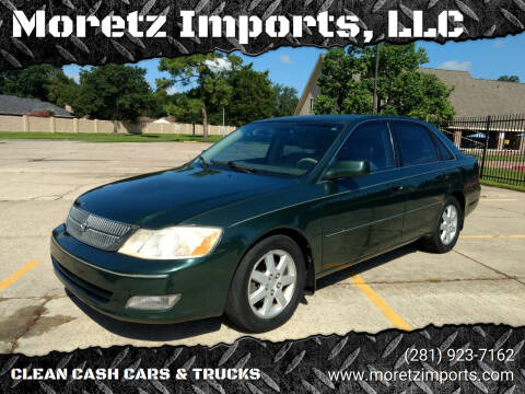 2001 Toyota Avalon for sale at Moretz Imports, LLC in Spring TX