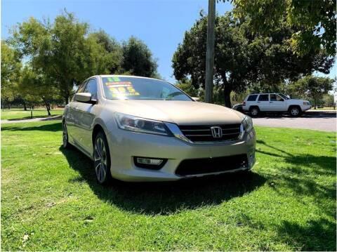 2013 Honda Accord for sale at D & I Auto Sales in Modesto CA