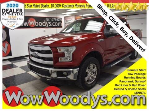 2015 Ford F-150 for sale at WOODY'S AUTOMOTIVE GROUP in Chillicothe MO