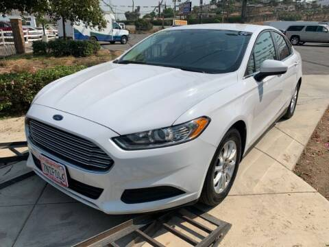 2016 Ford Fusion for sale at Los Compadres Auto Sales in Riverside CA