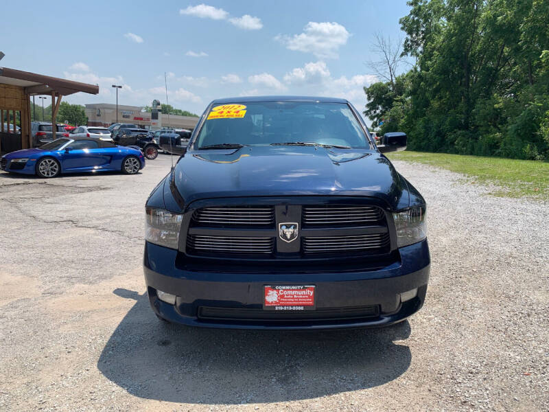 2012 RAM Ram Pickup 1500 for sale at Community Auto Brokers in Crown Point IN