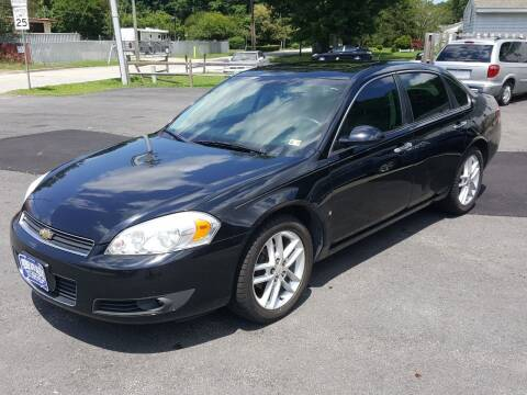 2008 Chevrolet Impala for sale at Premier Auto Sales Inc. in Newport News VA