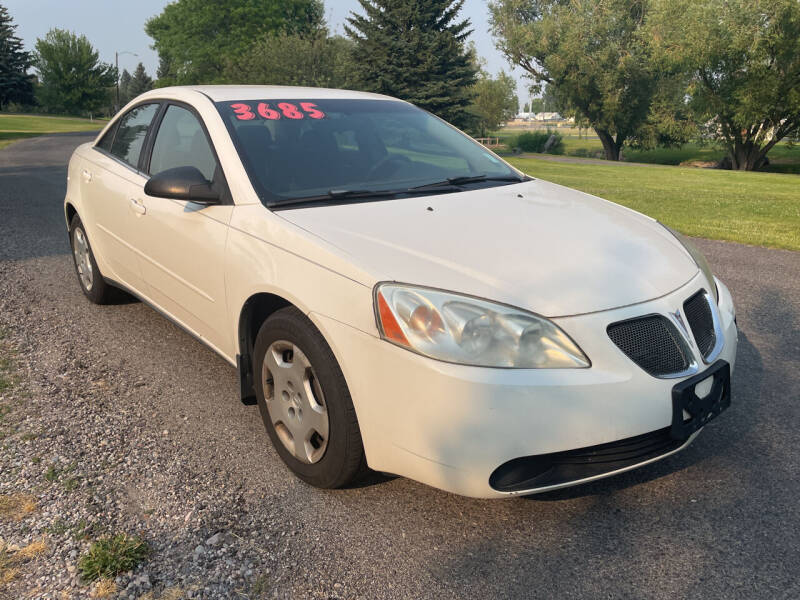 2005 Pontiac G6 for sale at BELOW BOOK AUTO SALES in Idaho Falls ID
