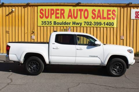 2018 Toyota Tacoma for sale at Super Auto Sales in Las Vegas NV