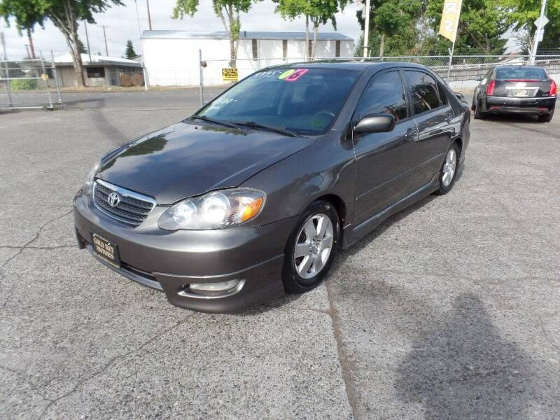 2006 Toyota Corolla for sale at Gold Key Motors in Centralia WA