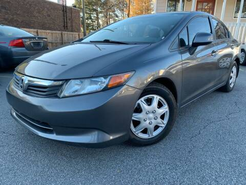 2012 Honda Civic for sale at Georgia Car Shop in Marietta GA