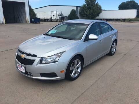 2013 Chevrolet Cruze for sale at More 4 Less Auto in Sioux Falls SD