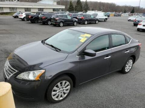 2015 Nissan Sentra for sale at Franklyn Auto Sales in Cohoes NY