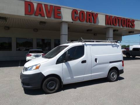 2018 Nissan NV200 for sale at DAVE CORY MOTORS in Houston TX