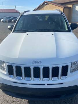 2011 Jeep Compass for sale at DAVE KNAPP USED CARS in Lapeer MI