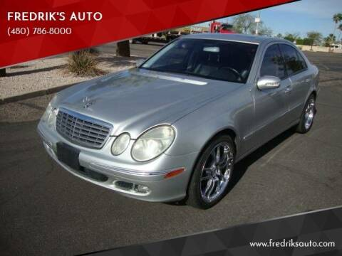 2005 Mercedes-Benz E-Class for sale at FREDRIK'S AUTO in Mesa AZ