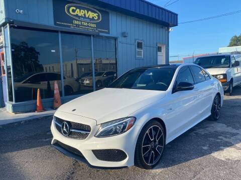 2018 Mercedes-Benz C-Class for sale at CAR VIPS ORLANDO LLC in Orlando FL
