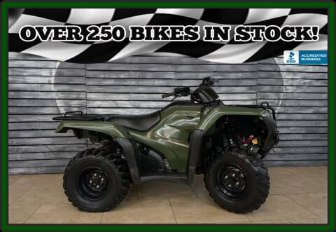 2017 Honda TRX420FA2H Fourtrax Rancher for sale at AZautorv.com in Mesa AZ