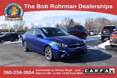 2021 Kia Forte for sale at BOB ROHRMAN FORT WAYNE TOYOTA in Fort Wayne IN